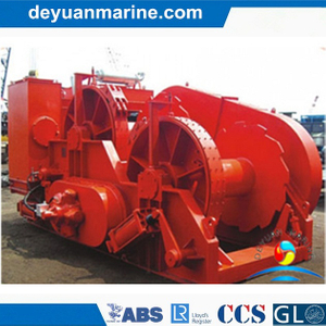 60t Hydraulic Towing Winch for Marine
