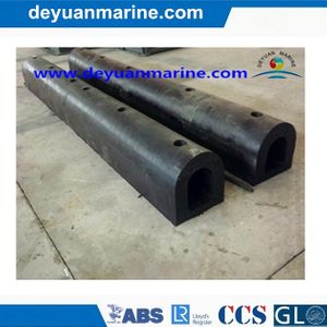 Marine D Type Rubber Fenders Cylindrical Boat Fender Dock Fenders with Competitive Price