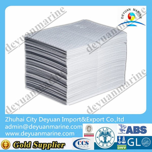 White Oil Absorbent Pad For Spill Emergency