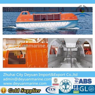 Partially Enclosed Rescue Boat