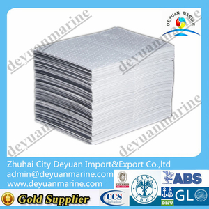White Oil Absorbent Pads Cloth Oil Absorbing Paper 2mm For Sale