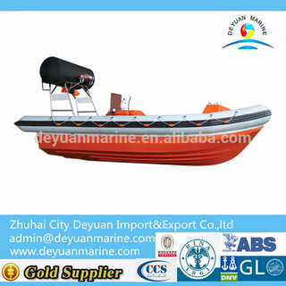 15 Person Inflatable Fender Fast Rescue Boat