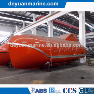 Totally Enclosed Free Fall Lifeboat