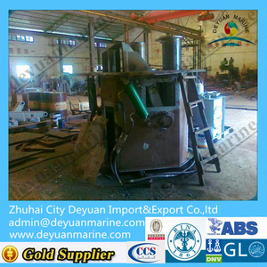 700T Triplex type hydraulic shark jaw