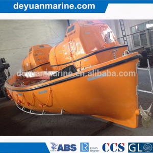 China FRP Open Type Lifeboat