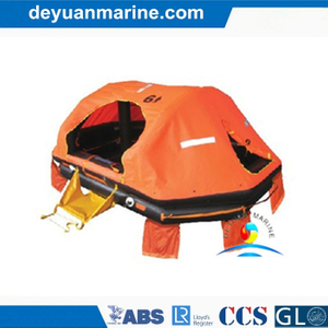 25 Man International Voyages Inflatable Liferaft/Life Raft