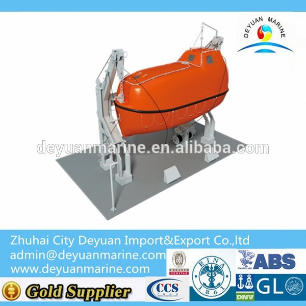 Gravity Luffing Arm Type Davit Hot Sale