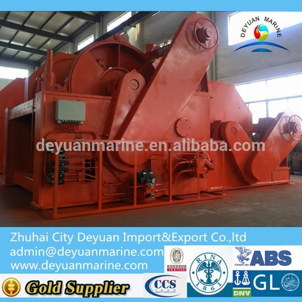 Marine Combined Hydraulic Anchor Windlass/Mooring Winches for decking machine