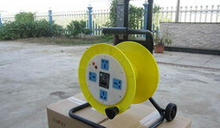 Exterior Slip Ring Spring Driven Cable Drum