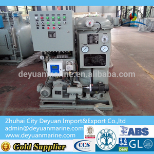 Hot Selling Marine Oily Water Separator with 15ppm Bilge Alarm