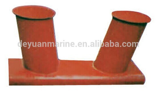 Marine Mooring Welded Inclined Bollard with Competitive Price