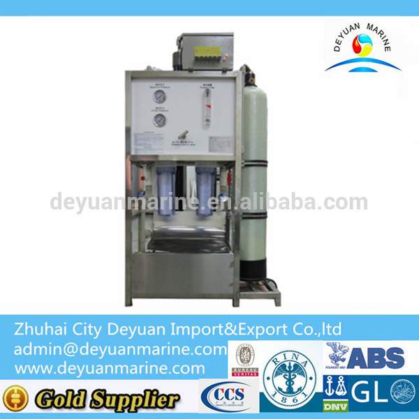 0.6 Mpa Marine Reverse Osmosis System Fresh Water Maker With Competitive Price