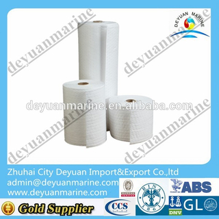 Hot Sale Oil Spill Absorbent Material Absorbent Polypropylene Solvent Wipes Oil Absorbent Pad