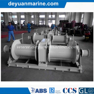 Electric Double Gyspy Mooring Winch