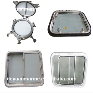 Steel Welded Opening Side Scuttle/Porthole With Aluminum Deadlight