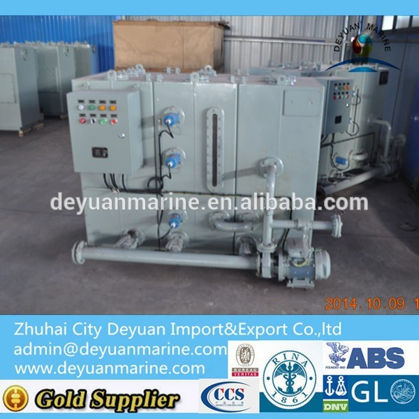 SWCH Series Marine Sewage Comminuting And Disinfecting Holding Tank