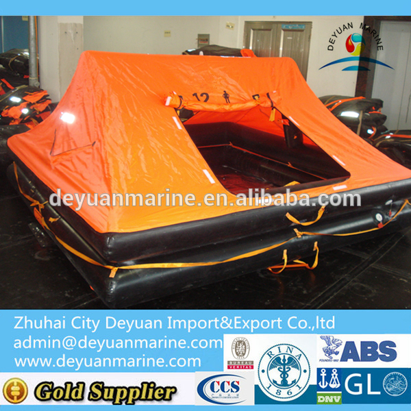 12 Man Throw-overboard Yacht Infatable Life raft for sale