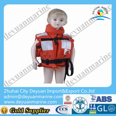 Child life jacket with CCS certificate