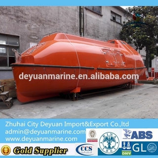F.R.P Totally Enclosed Lifeboat From Deyuan marine