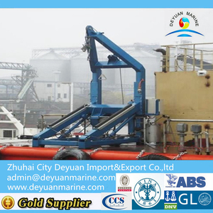 Hydraulic Type Electric Type A Frame Davit