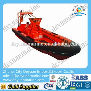 High quality inflatable boat rescue life boat open life boat