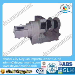 8-12 KN Marine rope ladder winches for decking machine