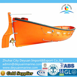 25 Person Open Type FRP Life Boat For Sale