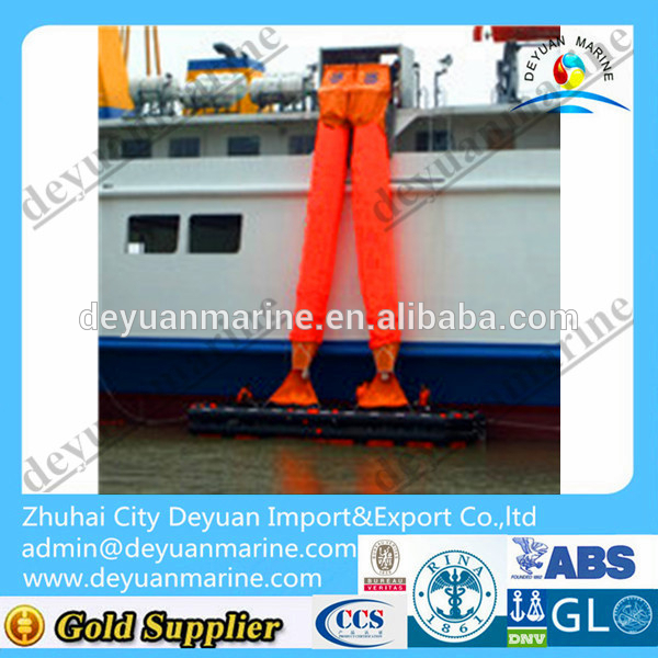 Double Chute evacuation system Vertical Passage Marine Evacuation System