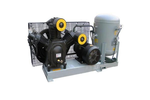 Medium pressure air cooled air compressor