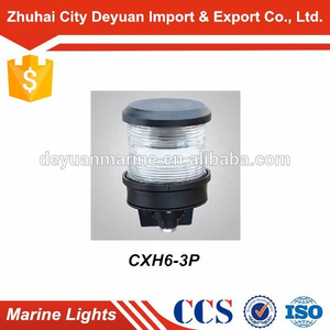 24V Ship Used Marine Navigation Signal All-round Light CXH6-3P