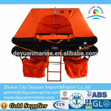 6 ManThrow-overboard Inflatable Liferaft factory