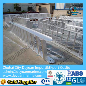 Marine Aluminium & Steel Gangway Ladder With ABS Certificate For Sale