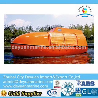 Partially Enclosed Lifeboat and Rescue Boat