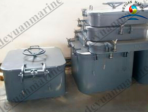 Aluminum Sunk Watertight Hatch Cover for Marine Use