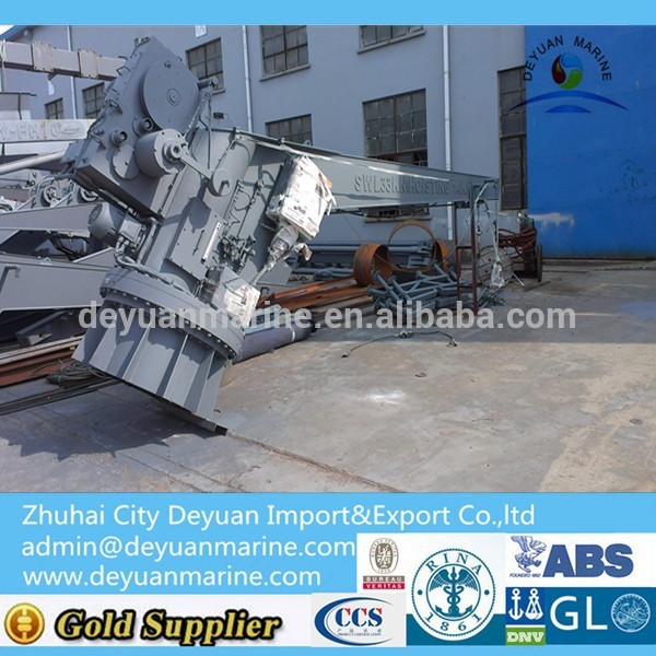 Single Arm Manual Slewing Raft Davit For Sale