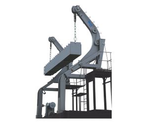 Slide type and gravity davit