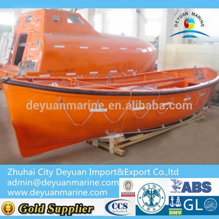 45 Person Manual Open Type Lifeboat
