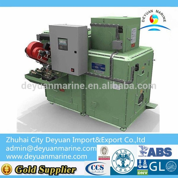 Smallest Waste Ship Mini Incinerator with competitive price