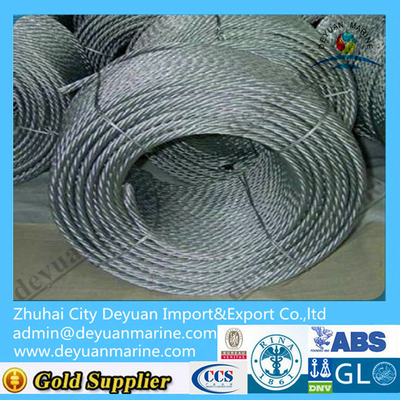 DIN Standard Mooring wire rope