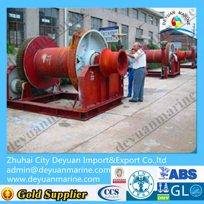 45T Hydraulic Towing Winch Ship