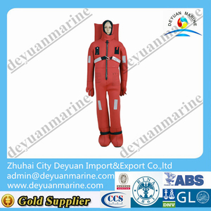 Solas Approved Types Of Immersion Suit floatation suit