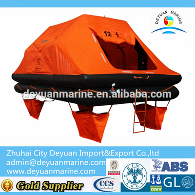 12 ManThrow-overboard Self-righting Yacht Inflatable Liferaft