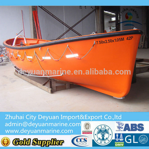 17 Person Open Type FRP Life Boat For Sale