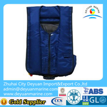 150N Marine inflatable lifejacket