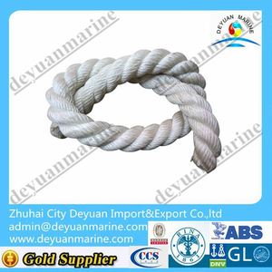 Polyester mooring rope polypropylene ropes