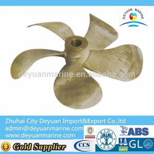 5 Blades Big Develop Area Propeller For Marine