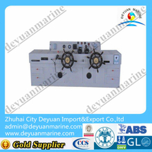 Double rudder hydraulic steering gear