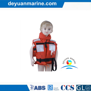 Inflatable Lifejacket for Kids Foam Type Safety Jackets for Children
