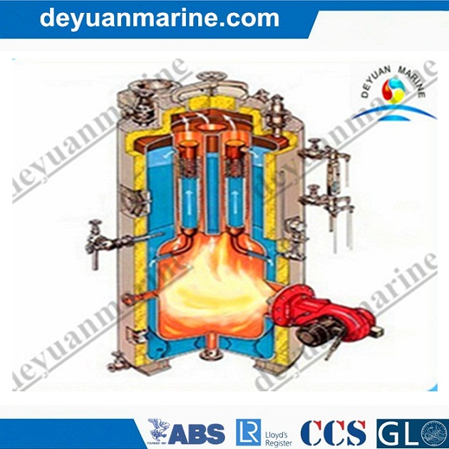 Low Price Marine Vertical Boiler Diesel Oil Fired or Gas Fired Steam Hot Water Boiler Horizontal Type Marine Boilers Made in China