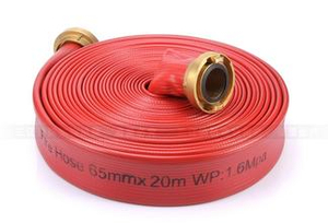 PVC Durable Marine Fire Hose Rubber or TPU Double Jacket Fire Hose